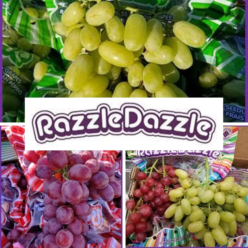 green and red grapes supplier